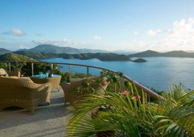 Joy of Life Villa Deck with Ocean View