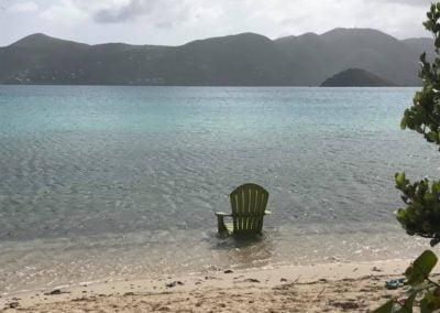 Beach Chair St John US Virgin Islands