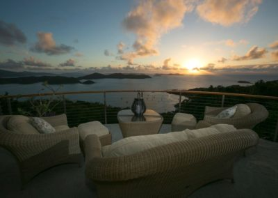 Joy of Life Villa Ocean View at Sunset