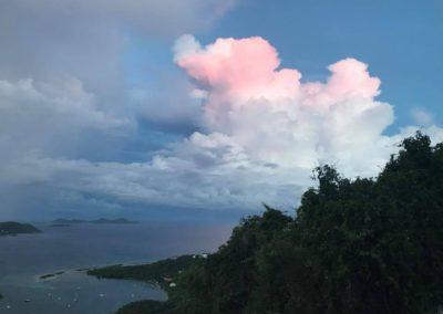 Sunset at St John US Virgin Islands