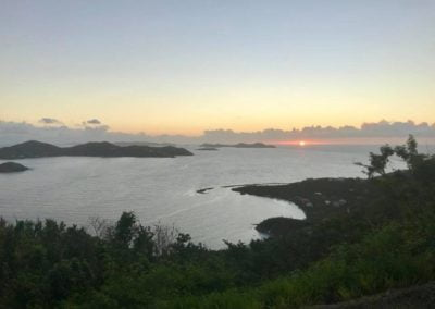 St John US Virgin Islands Sunset