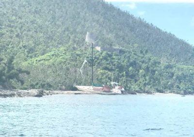 Sailboat St John US Virgin Islands