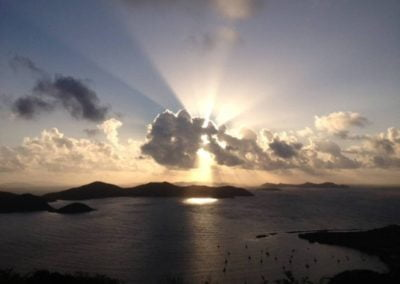 sunset st john us virgin islands